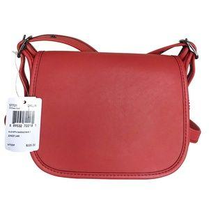 New COACH Glovetanned Saddle Bag 18 in Glovetanned